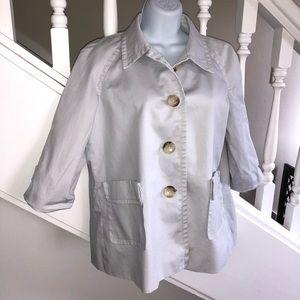 Michael Kors Half Sleeve Summer Swing Trench Coat